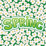 Vector illustration. Spring. Stock Image