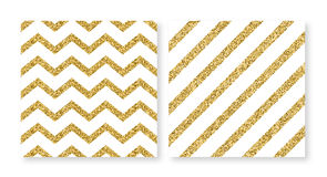 Vector illustration of a square of gold cards Royalty Free Stock Image