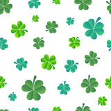 Vector Illustration of a St. Patrick`s Day Background Royalty Free Stock Photography
