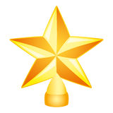 Vector illustration. Star. Royalty Free Stock Photo