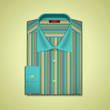 Vector illustration of a striped shirt Royalty Free Stock Photo