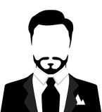 Vector illustration of stylish man in suit. Vector illustration of stylish man in suit Stock Photo