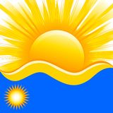 vector Illustration of summer background vector illustration