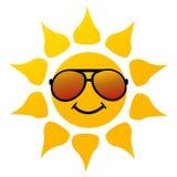 Vector illustration of the sun Stock Photos