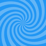 Vector illustration for swirl design. Swirling radial pattern background. Vortex starburst spiral twirl square. Helix rotation ray. S. Converging psychedelic stock illustration