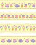 Vector illustration of tea party set Stock Images