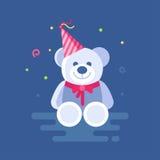 Vector illustration of Teddy bear. Royalty Free Stock Photos