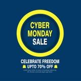 Cyber Monday banner design vector illustration