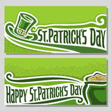 Vector illustration for text on the theme of St. Patrick's Day. Abstract vector illustration for text on the theme of St. Patrick's Day Royalty Free Stock Photo