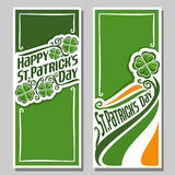 Vector illustration for text on the theme of St. Patrick's Day Royalty Free Stock Photos