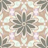 Vector illustration texture. Abstract geometric seamless ornamental pattern. Petal flowers. vector illustration texture Royalty Free Stock Photography