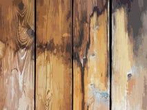 Vector illustration texture old wooden board royalty free illustration