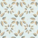 Vector illustration texture. Seamless background. leaves of the branch. vector illustration texture Stock Photography