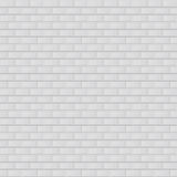 Vector illustration texture of white brick Stock Image