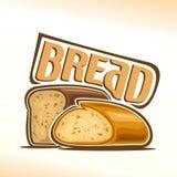 Vector illustration on the theme of bread. Abstract vector illustration on the theme of bread vector illustration