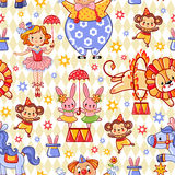 Vector illustration on the theme circus. vector illustration