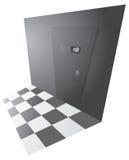 Top secret back door entrance Royalty Free Stock Photography