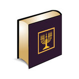 Vector illustration of the Torah book Stock Image