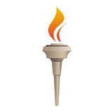 Vector illustration Torch. Stock Image