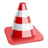 Vector illustration of traffic cone Stock Photos