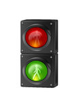 People Traffic Lights Stock Images