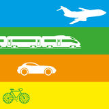 Vector illustration. Transportation. Stock Images