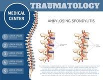 Vector Illustration Traumatology Medical Center. vector illustration