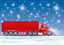 Vector illustration. Truck. Stock Photos