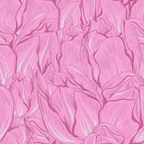 Vector illustration of tulips. (Seamless flowers Stock Image