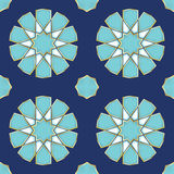 Vector Illustration of a Turkish Tile Royalty Free Stock Image
