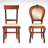 Chairs set Stock Photos