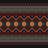Vector illustration of ukrainian folk seamless pat Stock Photo
