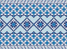 Vector illustration of ukrainian folk seamless pat Stock Photography