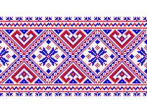 Vector illustration of ukrainian folk seamless pat Royalty Free Stock Photo