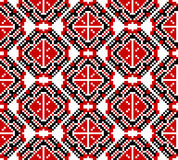 Vector illustration of ukrainian folk seamless pattern ornament. E stock illustration