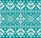 Vector illustration of Ukrainian folk seamless pattern ornament. Ethnic ornament. Border element. Tr Royalty Free Stock Images