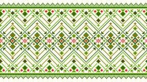 Vector illustration of Ukrainian folk seamless pattern ornament. Ethnic ornament. Border element. Stock Photos