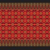 Vector illustration of Ukrainian folk seamless pattern ornament. Ethnic ornament. Border element. Royalty Free Stock Photography