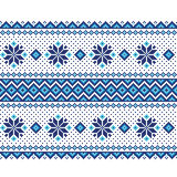 Vector illustration of ukrainian seamless pattern Royalty Free Stock Photography