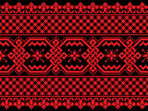 Vector illustration of ukrainian seamless pattern Stock Photography