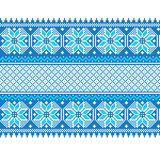 Vector illustration of ukrainian seamless pattern Royalty Free Stock Photos