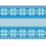 Vector illustration of ukrainian seamless pattern Royalty Free Stock Photos