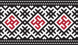 Ethnic Ukrainian seamless pattern vector illustration