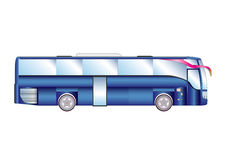 Vector illustration urban bus Stock Photo