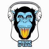 Cool Monkey. royalty free illustration