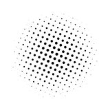 Beautiful vector card. Vector illustration. Use for manga, books, comics. Black white dotted texture royalty free illustration