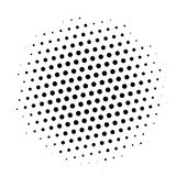 Beautiful vector card. Vector illustration. Use for manga, books, comics. Black white dotted texture vector illustration