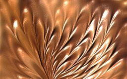 Brown Colored wave flower abstract background wallpaper vector illustration royalty free stock image