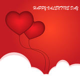 Vector illustration of valentine's day Royalty Free Stock Photography