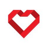 Vector illustration of valentine's day on white background Stock Photo